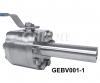 3PC High pressure ball valve (6000PSI)
