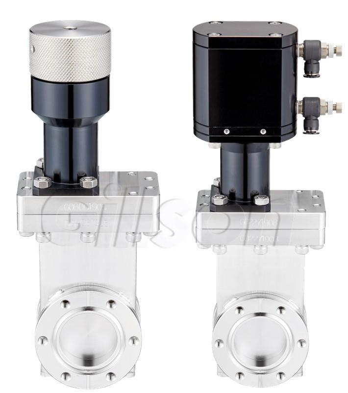 HV-gate valves (lubricated mechanism)